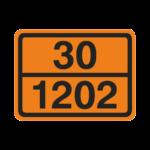 Πινακίδα αναγνώρισης κινδύνου ADR